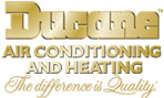 Ducane Air Conditioning and Heating - The differense is Quality  (logo)